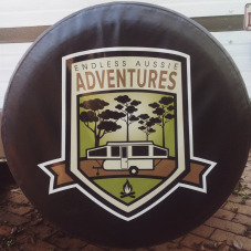 Tyre Cover Decal