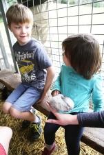 Look Tahlin I have a bunny.